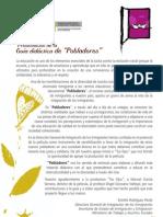 """Guía Didáctica de """"Pobladores"""""""