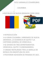 Republica de Nueva Granada de 1830 Hasta 1850