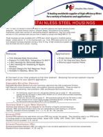 5000 PSIG Stainless Steel Housings