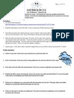 acid rain virtual lab worksheet 1
