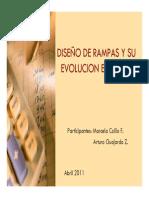 Diseño de Rampas y Su Evolucion en Un Pit m.collio - A. Guajardo