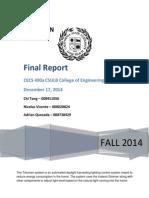 trilumen final report