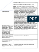 trilumen final report template