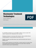 Wastewater Treatment by Sumona Mukherjee
