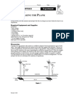 physics walking the plank