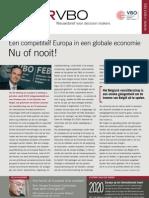 Een competitief Europa in een globale economie