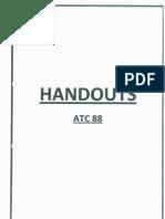 ATC88 Handout March 2013