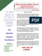 hfc december 21 2014 bulletin