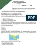 Examen de Historia de Mexico 2 Bloque