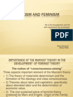 Marxism and Feminism Ppt