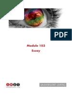 103 Guideline Essay