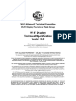 Wi-Fi Display Technical Specification v1.0.0