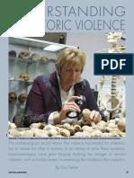 Understanding Prehistoric violence