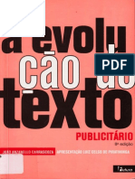 A Evolução Do Texto Publicitário - João Anzanello Carrascoza