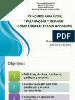 CitasResumenesyParafraseo-ProfEfrainFlores