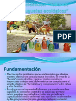 Unidad Didáctica Taller de Juguetes Ecologicos