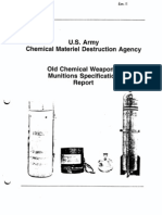 Old Chemical Weapons 1994