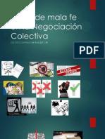 Actos de Mala Fe en La Negociación Colectiva