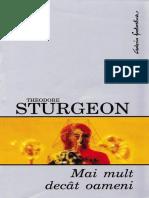 Sturgeon, Theodore - Mai Mult Decat Oameni