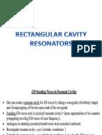 Electromagnetic Theory-Rectangular Cavity