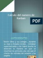 Calculo de numero de kanban