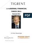 Financial Check 2011