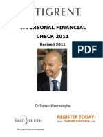 Financial Check 2011
