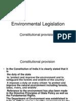 Environmental Legislation in India
