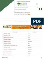 Top Universities in Nigeria _ 2014 Reviews & Rankings