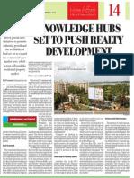Knowledge hubs push realty development -Devanahalli