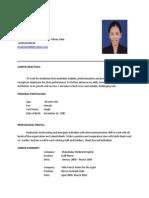 HAzel LAtest Resume With App