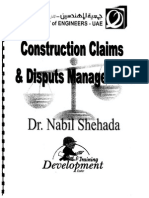 Construction Claims & Disputes Management