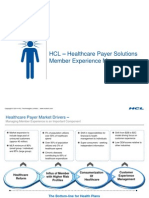 Member Experience Management Solution Framework by HCL