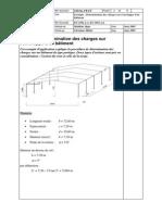 Détermination Des Charges Sur l'Enveloppe d'Un Bâtiment