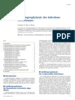 Antibioprophylaxie Des Infections