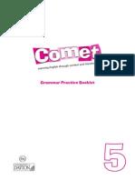 Comet 5. Grammar Booklet