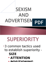 Sexism and Advertisement