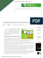 Big Data Analytics and Predictive Analytics - _ Predictive Analytics Today