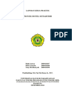 Laporan KP (Regu 19) Proyek Hotel Setiabudhi - I 2014