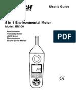Extech Enviromental Meter