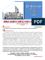 HORA SANTA CON EL PAPA. La Iglesia (12) Obispos, sacerdotes y diáconos
