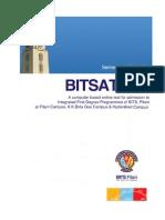 BITSAT2014 Brochure