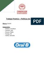 TP Politicas de Producto - OralB
