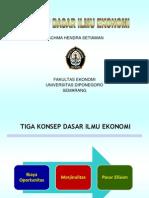 2. Konsep Dasar Ilmu Ekonomi