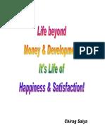 Life Beyond Money & Development