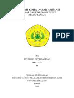 Manfaat dan Kegunaan Tutut (keong sawah)