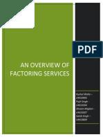 Factoring (1)