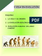 TEMA 2. LA VIDA EN EVOLUCIÓN