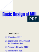 Basic Design of AHU (General)