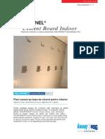Placă de ciment AQUAPANEL® pt. interior